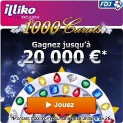 Gagner 20 000 euros en jouant à 1000 Carats